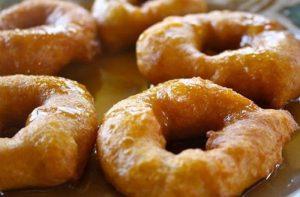 Picarones de chancaca